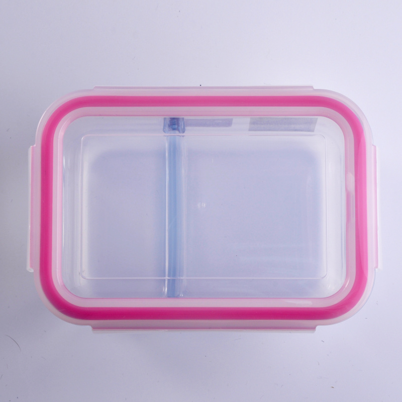 glass meal box