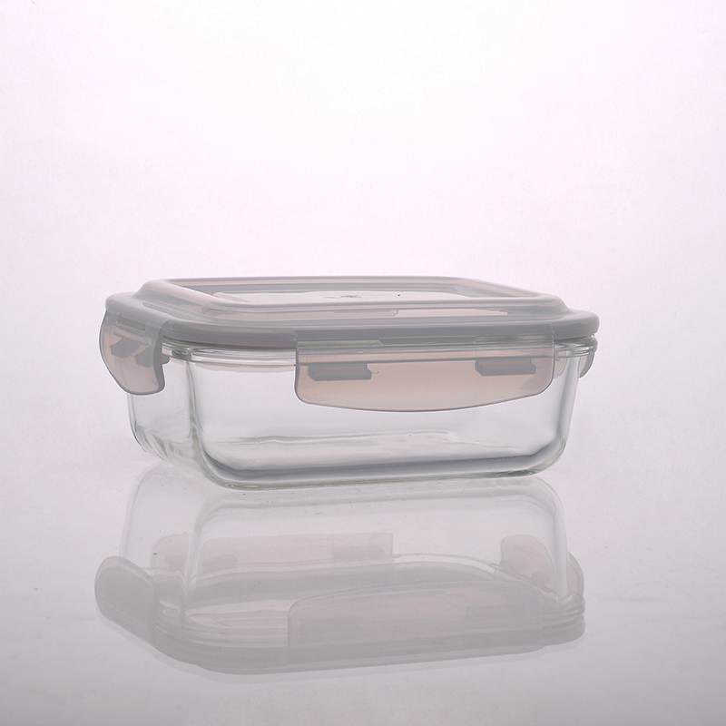 Different Sizes Glass Food Storage Containers