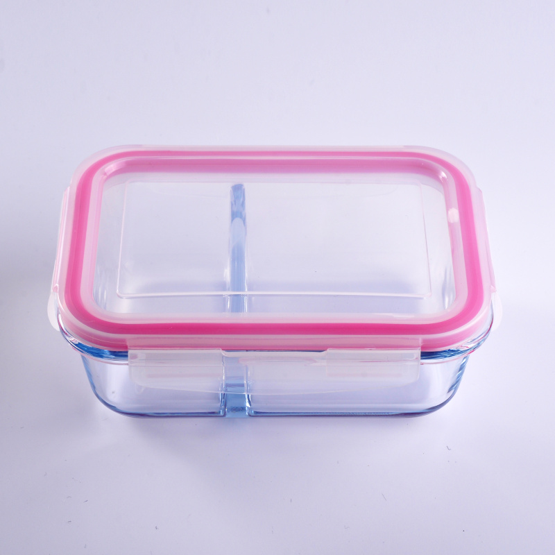 Square Multifunctional Glass Food Storage Container