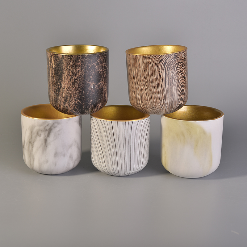 wood shape ceramics