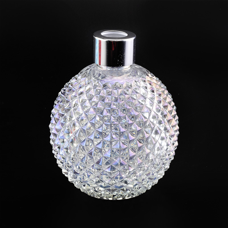 Iridescent Empty Fragrance Room Spray Bottles Glassware