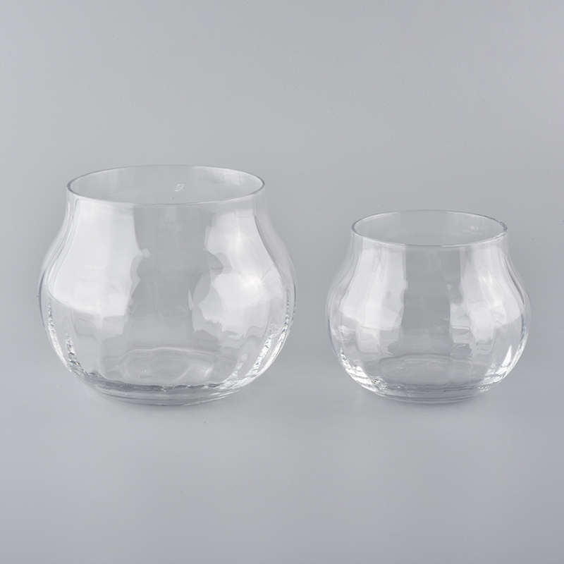 1200ml Clear Glass Candle Container Wholesale