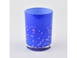 350ml Blue Glass Jars For Candle Making