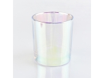 6oz 8oz 10oz iridescent Glass Candle Jars