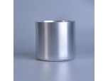 Aluminum Silver Metal Candle Container