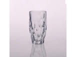 Clear Heavy Base Tall Drinking Glass