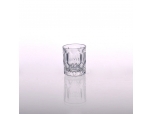 Clear cylinder whiskey glass cup wholesales