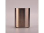 Cylinder Straight 304 Stainless Steel Candle Jars With Lids