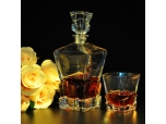 Fancy short cup for whiskey glass tumbler