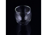 Hot Selling Wholesale Transparent High Borosilicate Glass Coffee Cups Glass Mugs