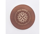 Popular MDF Wooden lids with laser logo for candle jars