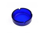 color spraying glass ashtray